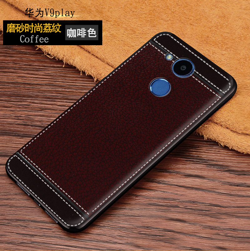 Leather Cover For Huawei Honor 6C Pro Case 360 Protection Soft Silicone Phone Cases For Honor V9 Play
