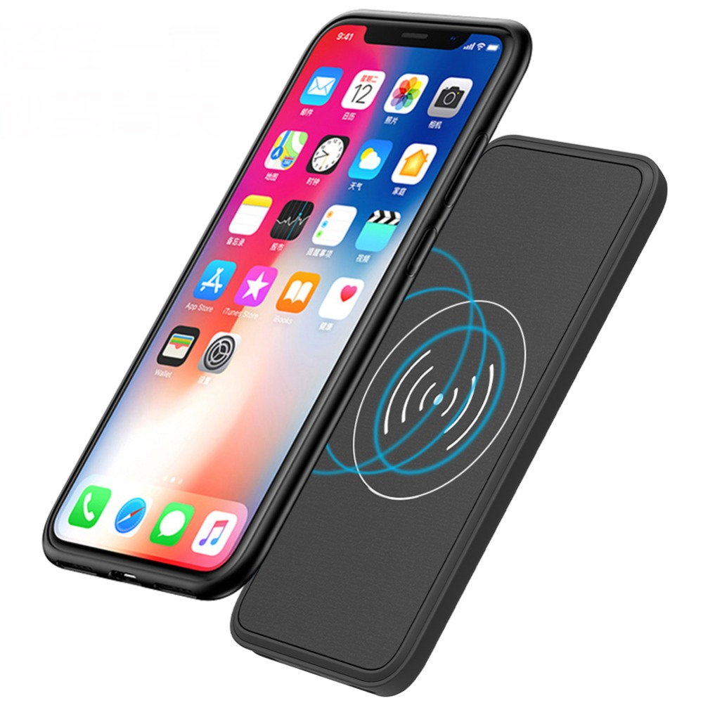 5000 MAh Charge Battery Cover For Iphone X XS XR Battery Case External Wireless Full Power Bank For Iphone XS MAX Battery Case5000 MAh Charge Battery Cover For Iphone X XS XR Battery Case External Wireless Full Power Bank For Iphone XS MAX Battery Case
