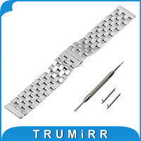 20mm 22mm Stainless Steel Watch Band Quick Release Strap For Rolex Watchband Butterfly Clasp Wrist Belt