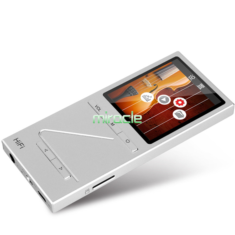 ONN X5 8GB Full Metal Professional Lossless HIFI Music Player MP3 Player TFT Screen Support APE