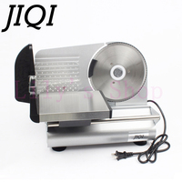 JIQI Electric Meat Slicer Mutton Roll Frozen Beef Cutter Lamb Vegetable Slicing Machine Stainless Steel Grinder