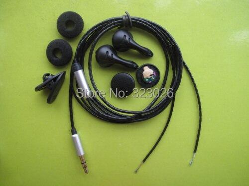 pk1 earphone kit(speaker+shell+wire+clips+sponge)