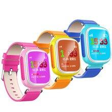Купить онлайн GPS Smart Watch детские часы Q70 Портативный 1.44 Инче экран с SOS вызова расположение устройства трекер для малыша Безопасный Anti- потерянный Мониторы