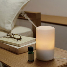 Portable Mini Ultrasonic Air Humidifier Purifier Aroma Diffuser and USB LED Nightlight for Home цена и фото