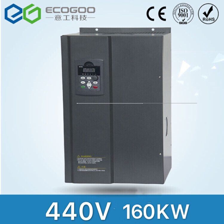 Frequency Inverter 160KW/3 Phase 440V/259A Frequency Inverter-Free Shipping- / Vfd 160KWFrequency Inverter 160KW/3 Phase 440V/259A Frequency Inverter-Free Shipping- / Vfd 160KW