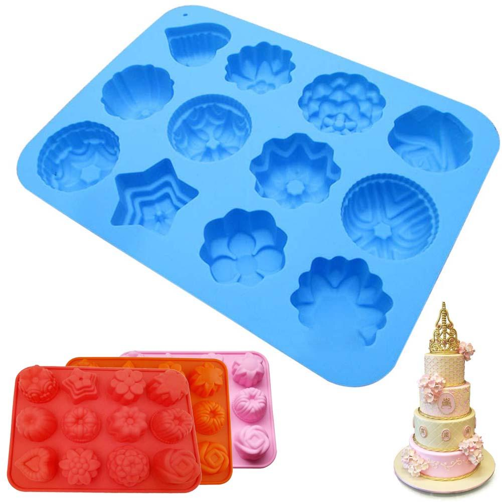 Hot Bakeware Mould Cake Chocolate Candy Jelly Fondant