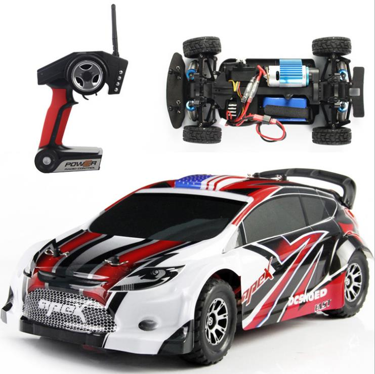 A949 Racing RC Car 4WD 2.4GHz Drift Toys Remote Control Car 1:18 High Speed 40km/h Electronic Car  NEW 2016 dongxin mercedes benz sl65 speed remote control steering wheel 1 18 car drift charge black
