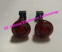 Authentic original OMRON Scram button switch A165E LS 24D 02