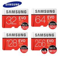 SAMSUNG EVO Plus Memory Card 32GB SDHC 95mb S Class10 Micro SD C10 U1 TF Cards