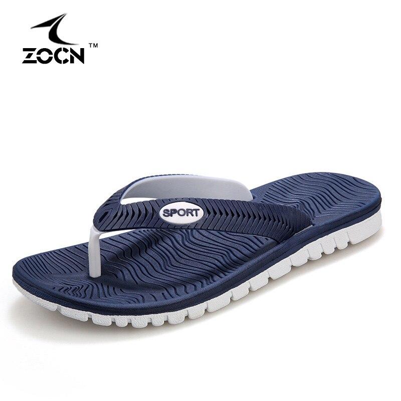 New Summer shoes Men Flats Sandals Hot Sandalias hombre Beach Flip Flops Men s Sandals Beach
