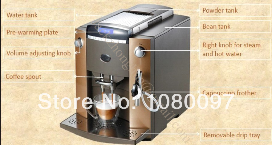 Bloomfield coffee maker parts list