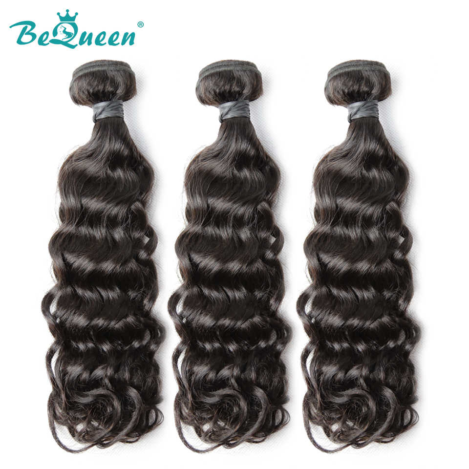 Bequeen Unprocessed Water Wave Virgin Hair 100% Human Hair Brazilian Hair 1pc/lot 3pcs/lot 4pcs/lot, Free Shipping