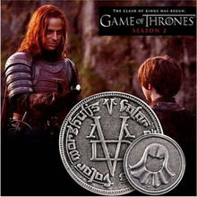 ФОТО kokoer new fashion game of thrones the coin a song of ice and fire faceless man coin with gift bag movie jewelry coin badgesxl17