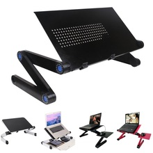 Multi Functional Ergonomic mobile laptop table stand in bed/