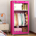 FREE Shipping Non-Woven Unmarried Wardrobe Closet HAHA Clothes Quilts Storage