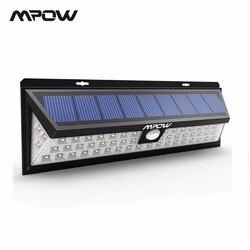 Mpow CD020 54 HA CONDOTTO LA Luce di Notte IP65 Impermeabile Luci Solari Ampio Angolo di LED Solar Powered Lampada Esterna Per Applique Da Parete Da Giardino yard Patio