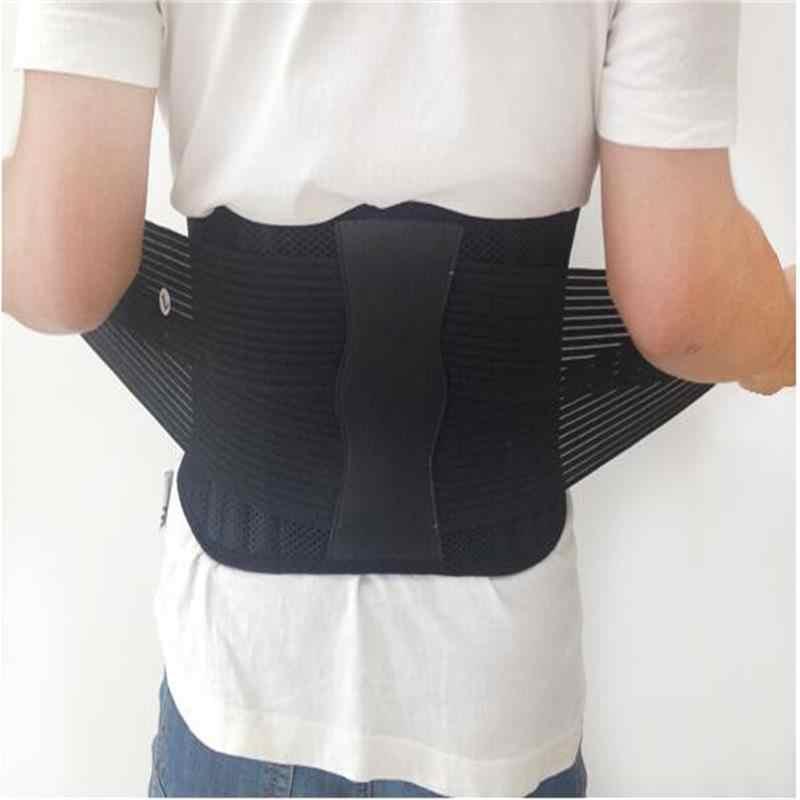 Ayarlanabilir sırt destek kemeri erkekler kadınlar ortopedik korse geri destek kemeri Faja bel destek kemeri sırt ağrısı boyutu XXXL AFT-Y111