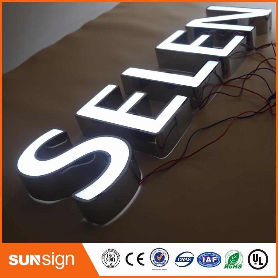 Aliexpress High Brightness Outdoor Large Alphabet Letters Acrylic Luminous Signs
