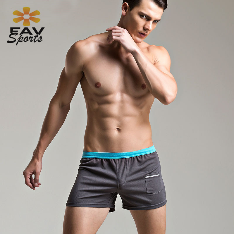 7 Colors Mens Swim   Shorts   Summer Beach Pants Surfing   Board     Shorts   Swimwear Running Sport Trunks Solid Surfing Pants Bodybuilding