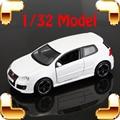 Novo Dom Chegada GTI 5 1/32 Modelo Do Carro Modelo Sedan escala Estática Veículo Mini Decoração Em Casa Fãs Presentes Brinquedos coleção