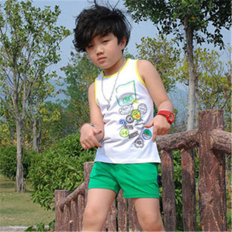 Free Shipping Kids Casual Solid Shorts for Little Boys Summer Wear ...