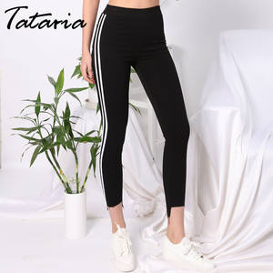 8ee3a1988a Tataria Fitness Plus Size Woman Pant High Waist Legging