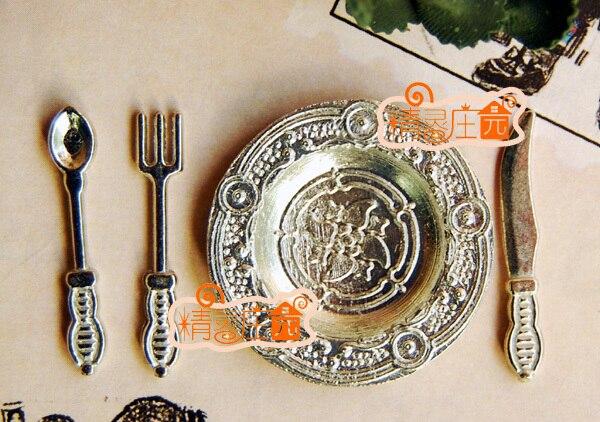 1:12 dollhouse miniature mini tableware Kitchen utensils
