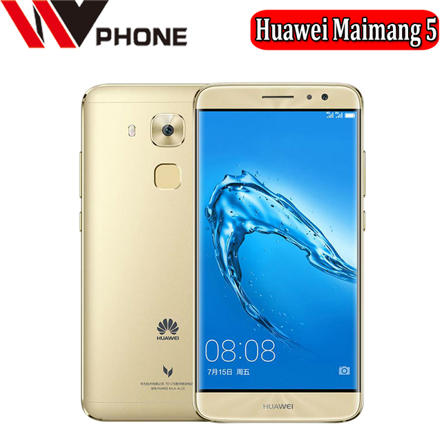 WV Huawei Maimang 5 LTE 4G Mobile Phone MSM8953 Octa Core 3/4GB RAM 32G/64G ROM Android 6.0 16.0MP 2.5D Glass