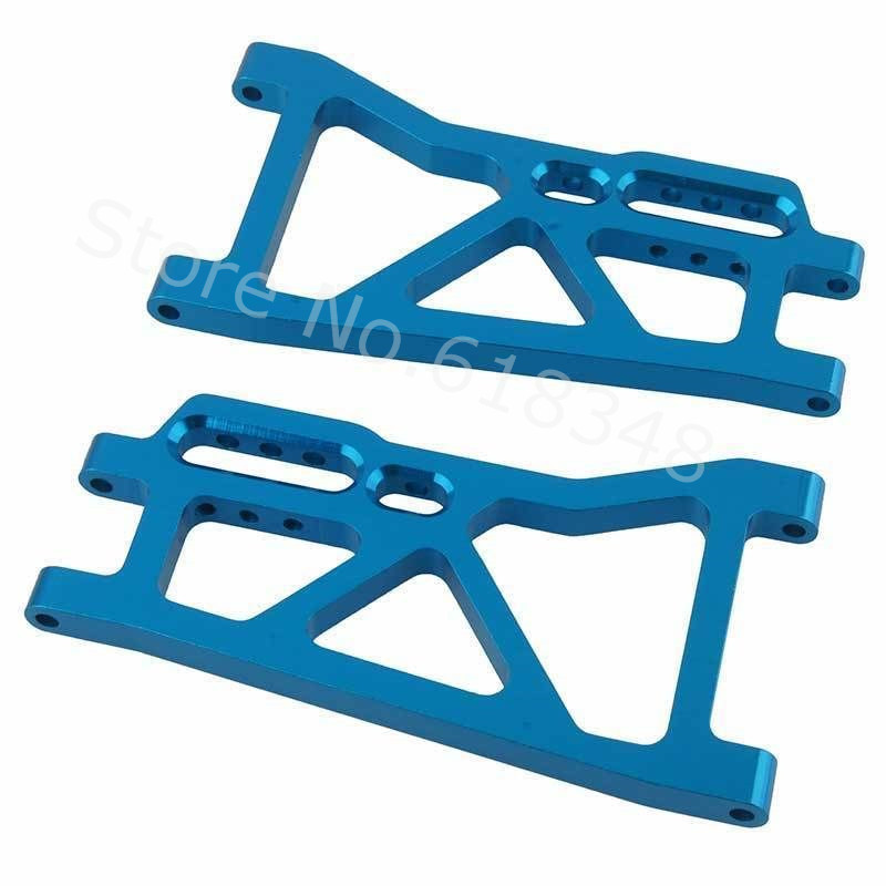 10pcs/Lot Aluminum Rear Lower Suspension Arms (AL.) 513008 For FS Racing 1/10 Monster Trcuk Upgrade Parts CNC Hop Up 3655x aluminum front rear lower suspension arms l r for 1 10 scale traxxas slash 4x4 stampede 4wd 80704 replacement hop up