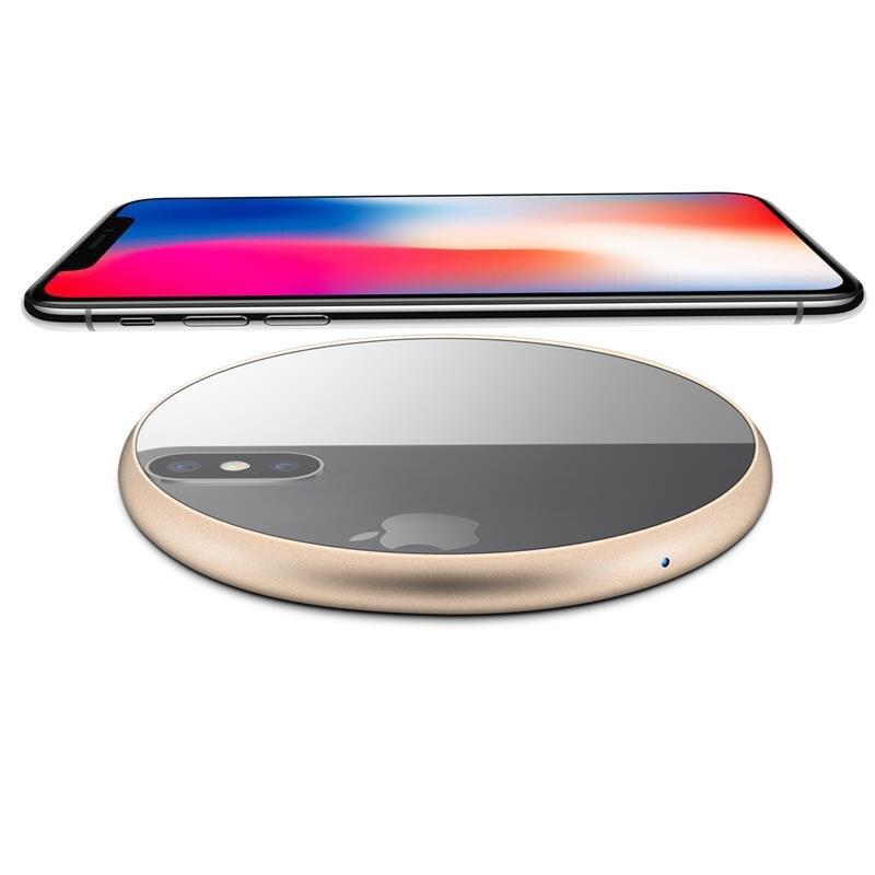 XSKEMP Mirror Qi Wireless Charger For Samsung font b Galaxy b font font b S8 b