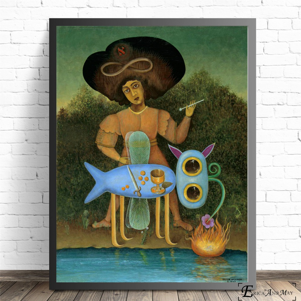 Surreal Oil Painted Dali Style On Sale Poster Wall Painting Living Room Abstract Canvas Art Pictures For Home Decor No Frame