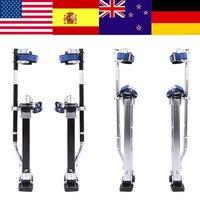 Professional Grade Adjustable Drywall Stilts Taping Paint Stilt Aluminum 24 40 Adjustable