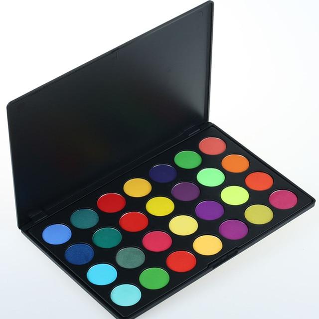 28 Color Professional Makeup Eyeshadow Palette Eye Make UP Maquiagem Matte Eyeshadow Cosmetic Set Kit
