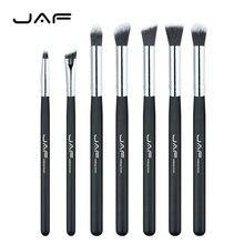 Розничная продажа JAF бренд 7 шт./компл. Профессиональный Портативный Макияж Расчёски для волос из глаз смешивания тени для век smudge затенение Расчёски для волос je07ssy-b
