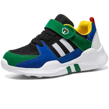 Boys Running Shoes Trend Soft Sole Non-slip Breathable Kids Sneakers Children Sport Outdoor Boy Footwear Walking Red