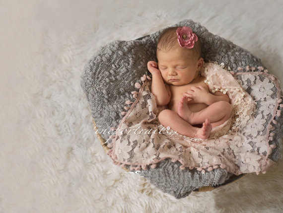 newborn photography props baby blanket  fotografie achtergronden for infant accessoire Hand-woven Twisted tails props blanket
