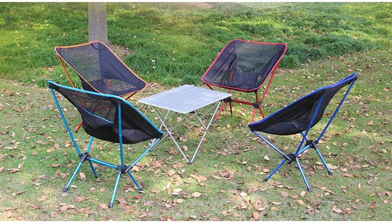 ao ar livre cadeira de acampamento portátil