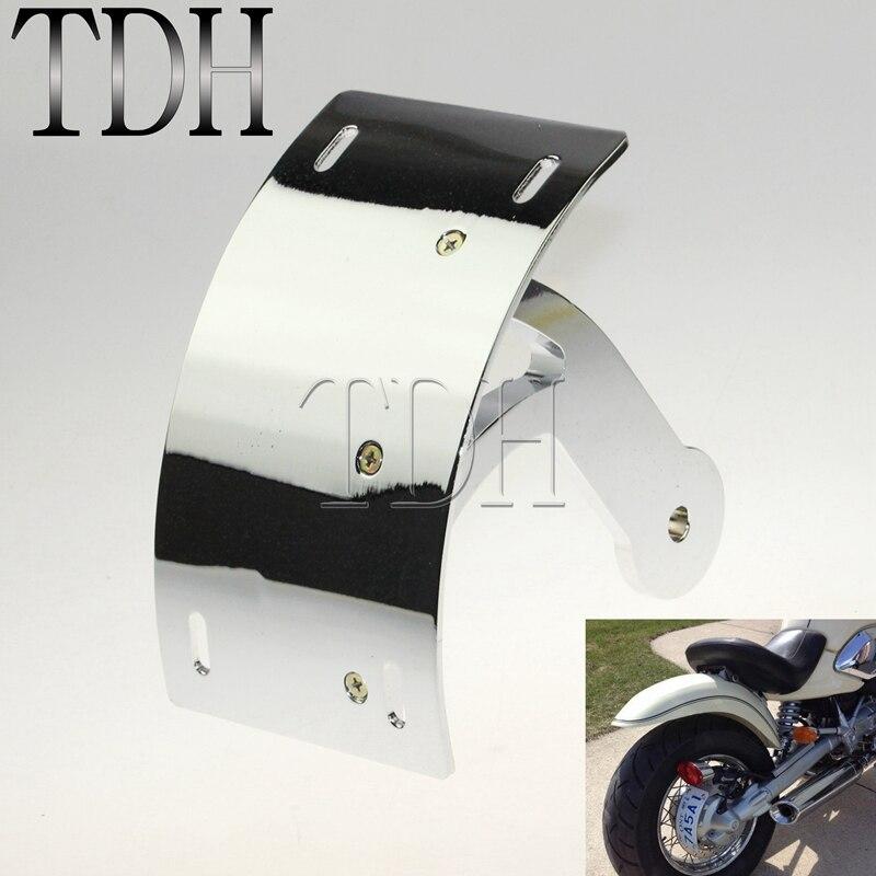 Chrome CNC Tag Bracket Plate Swingarm for Suzuki Boulevard M109R 2006-2014