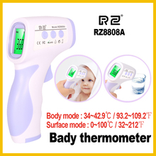Best Buy RZ IR infrared human body thermometer digital non-contact electronic temperature meter termometro forhead RZ8808A