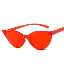 Ou Mo brand One Piece Transparent Plastic zonnebril dames Sunglasses Women/Men Style Sun Glasses Clear Men