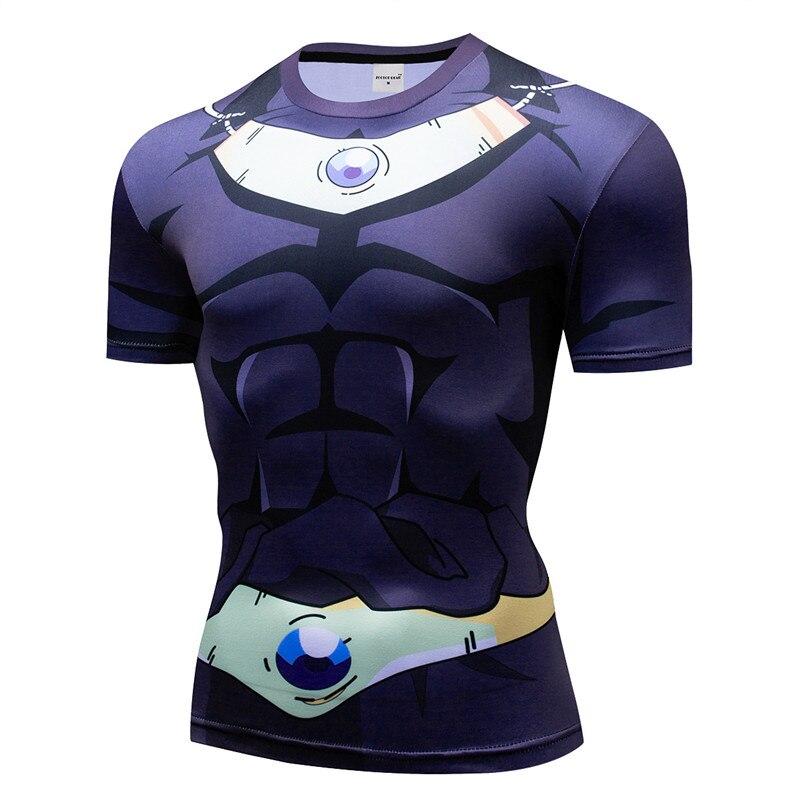 7cf3ccf28 Compression T shirt Long Sleeve Dragon Ball Comics Vegeta Goku T shirt  Cosplay Costume Fitness Tees Shirts Workout Tshirt XXXL-in T-Shirts from  Men s ...