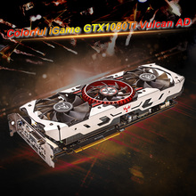 SLI Video-Graphics-Card Colorful Igame Gtx1080ti Vulcan 11GB HDMI 352bit GDDR5X DVI Fan