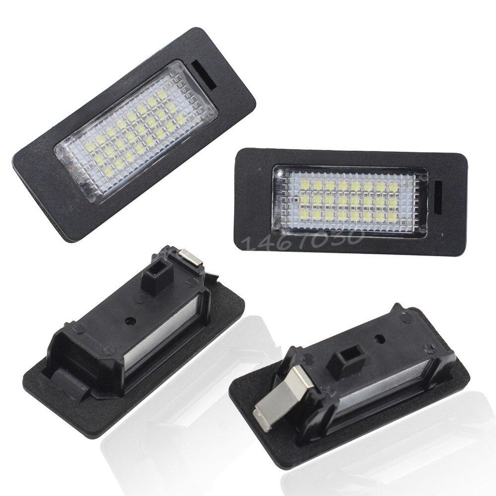 2PCS 24LED 3528SMD rendszámtábla-világító csatlakozók 5 ajtós - Autó világítás