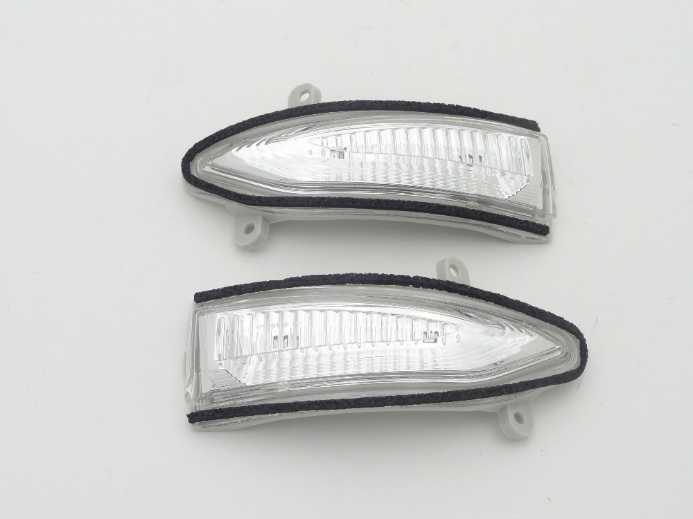 1 Pair Rear view Mirror Indicator Turn Signal light lamp Left & Right For Nissan Sentra 2013-2016 1 psc left side mirror indicator light turn signal lamp for mazda 6 2 0l 2008