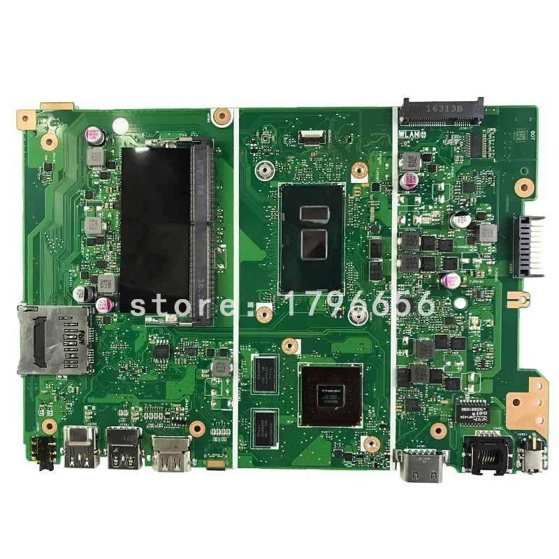 original for ASUS laptop X441U X441UV Motherboard i3 7100U Processor NVIDIA GeForce 920MX test ok