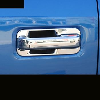 lsrtw2017 abs car door handle trims car door bowl trims for Ford F-series F150 2009-2019 2017 2016 2015 2014 2013 2012 2011 2010