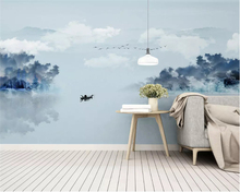 Custom new wallpaper modern free shipping custom 3D stereo bedroom background romantic big wall painting