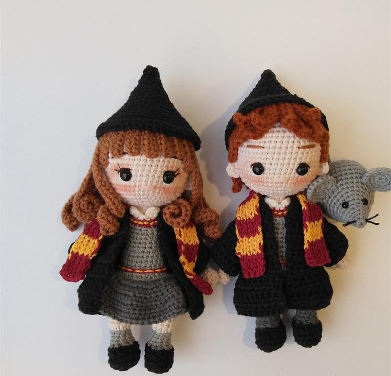 Crochet jouets amigurumi Amigurumi poupée hochets numéro WS0042 - 4