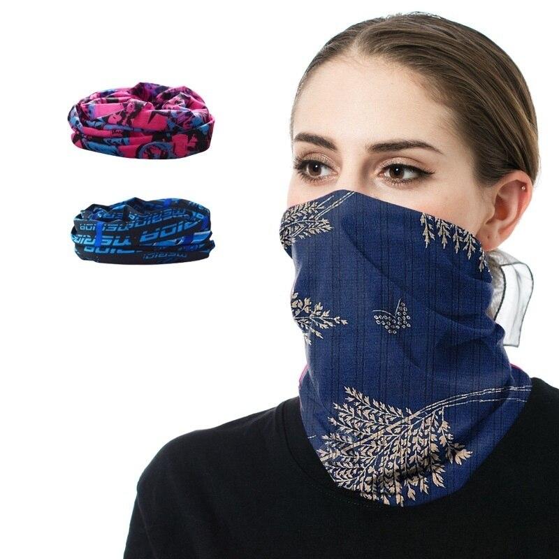 2020 Fashion Solid Bandana Multi-functional Magic Bicyle Headband Scarf Soft Face Mask Seamless Tubular Unisex Scarves Neck Gait
