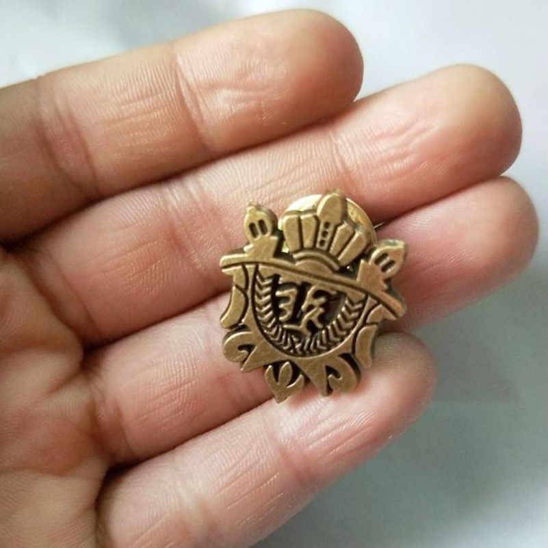 Vestito degli uomini accessori spilla/versione Coreana del atmosferica sezione scudo piccolo collare pin spilla commercio all'ingrosso